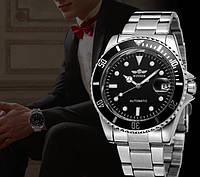 Мужские механические часы Winner Basel с автоподзаводом