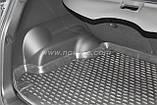 Коврик в багажник  SSANGYONG Korando 2010- кросс. (полиуретан), фото 3
