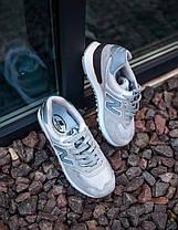 Кроссовки New Balance 574  Нью Беленс, Замша/Текстиль, Серые,  женские / мужские ,Жіночі кросівки Размер 36-41, фото 3
