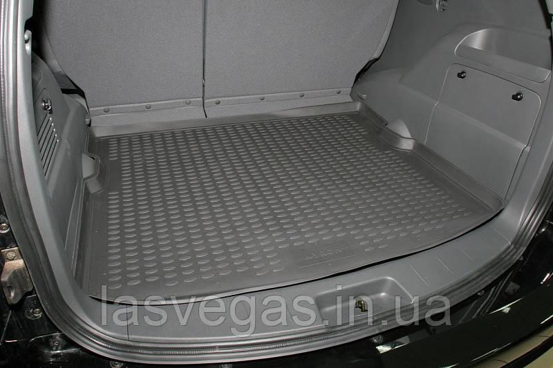 Коврик в багажник  SSANGYONG Kyron 2005- внед. (полиуретан)