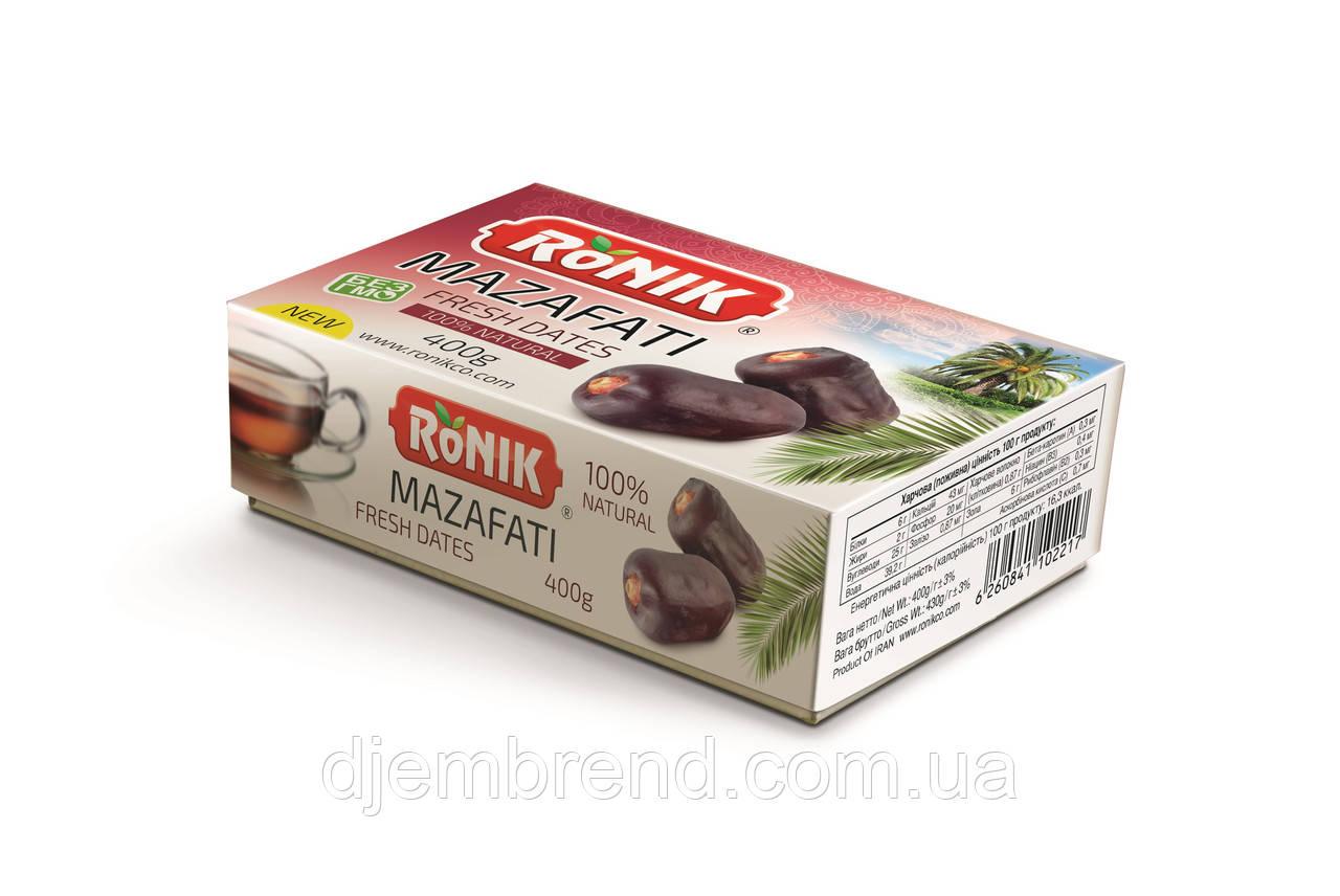 Финики Ronik MAZAFATI 600 г.