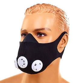 Маска тренувальна Training Mask 3 клапана FI-5324