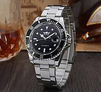 Мужские механические часы Winner Basel с автоподзаводом (индикация даты)