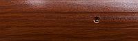 Порог алюминиевый 19А 1,8 метра дуб темный 3х40мм скрытое крепление , фото 1