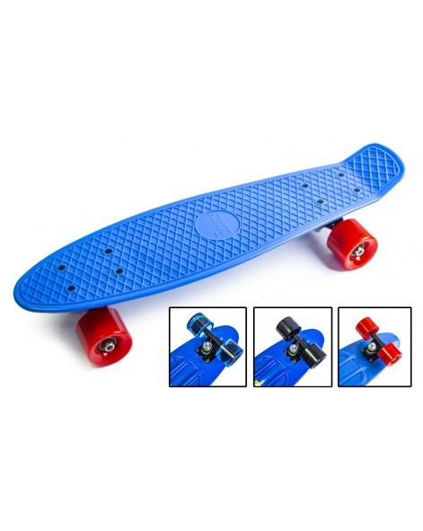 Скейт Penny Board Original 22 Пенни борд синяя дека