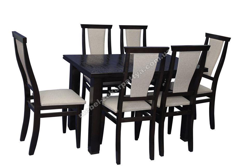 Кухонный комплект обеденный (стол и стулья) Код 01/1