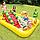 Детский надувной игровой центр с горкой Intex 57158, фото 2