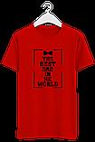 Мужская футболка THE BEST DAT, фото 4