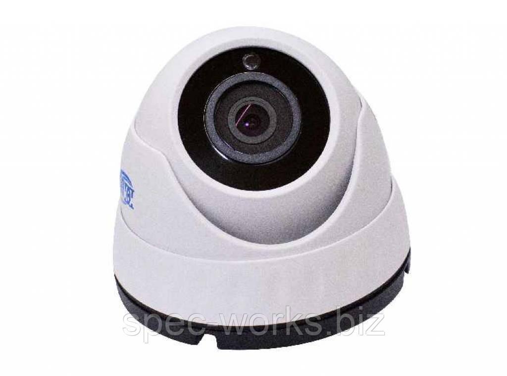 Видеокамера купольная DG-2124P (2.8 мм) (AHD / CVI / TVI / CVBS)
