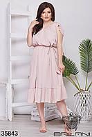 Романтическое женское летнее платье 48-52,54-58,60-64