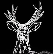 Светодиодные Мотивы 3D Фигуры
