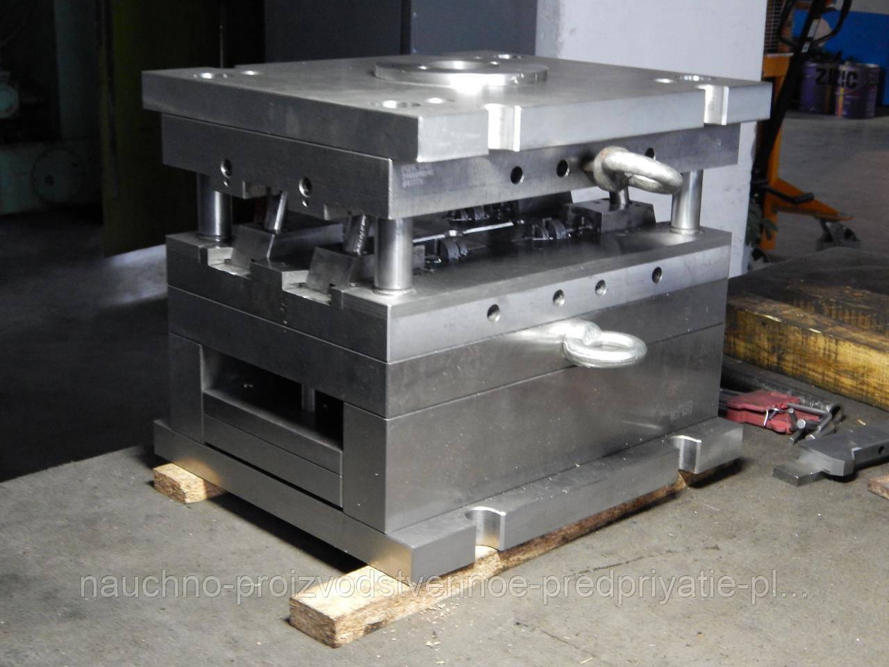 Прессформа для изготовления держателя соски-пустышки