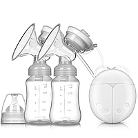 Электрический молокоотсос для грудного вскармливания двойной