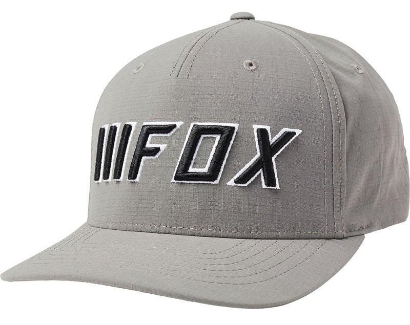 Кепка FOX DOWNSHIFT FLEXFIT grey