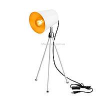Настольная лампа в стиле лофт белая на ножках SWT-2038 WH
