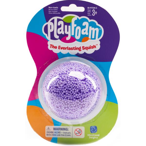 Playfoam Шариковый пластилин классический фиолетовый classic