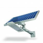LED фонарь уличный автономный с солнечной панелью VIDEX  30W 5000K