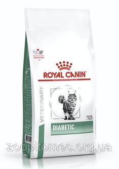 Royal Canin (Роял Канин) DIABETIC CAT Сухой корм для кошек страдающих сахарным диабетом, 400 г