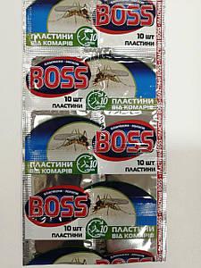 Пластины от комаров Boss
