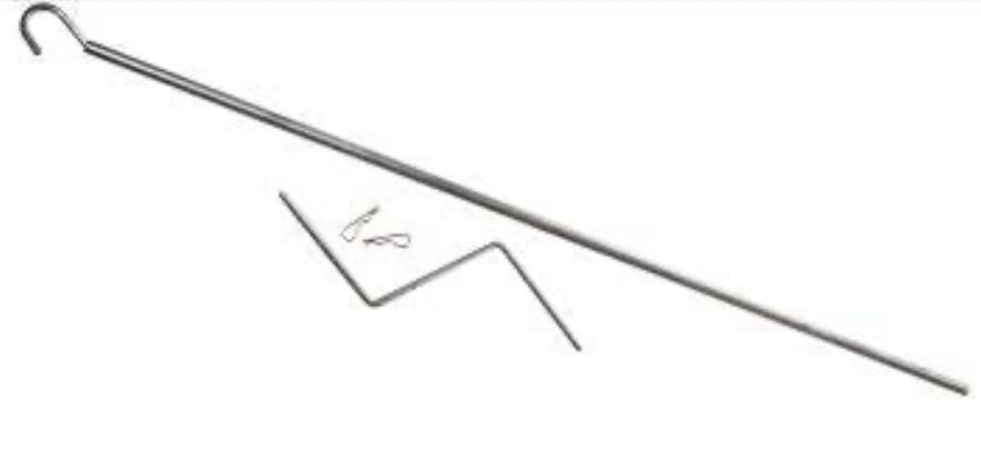 Ручка для потолочной лебедки