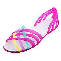Яркие босоножки 38 (24 см.) сандалии, лодочки, мыльницы, летние туфли, летняя обувь крокс босоніжки сандалі