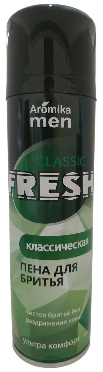 Пена  Fresh для бритья 200 мл Классическая