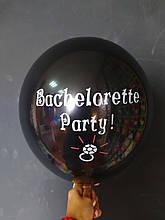 "Латексна кулька з малюнком Barcelorette party 10"" Китай"