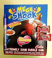 Жевательная резинка Mega Shook кола 200 штук (0,5), фото 1