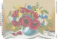 Схема для вышивания бисером ''Букет полевых цветов'' А3 29x42см
