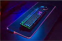 Килимок для клавіатури і мишки з підсвічуванням, фото 1