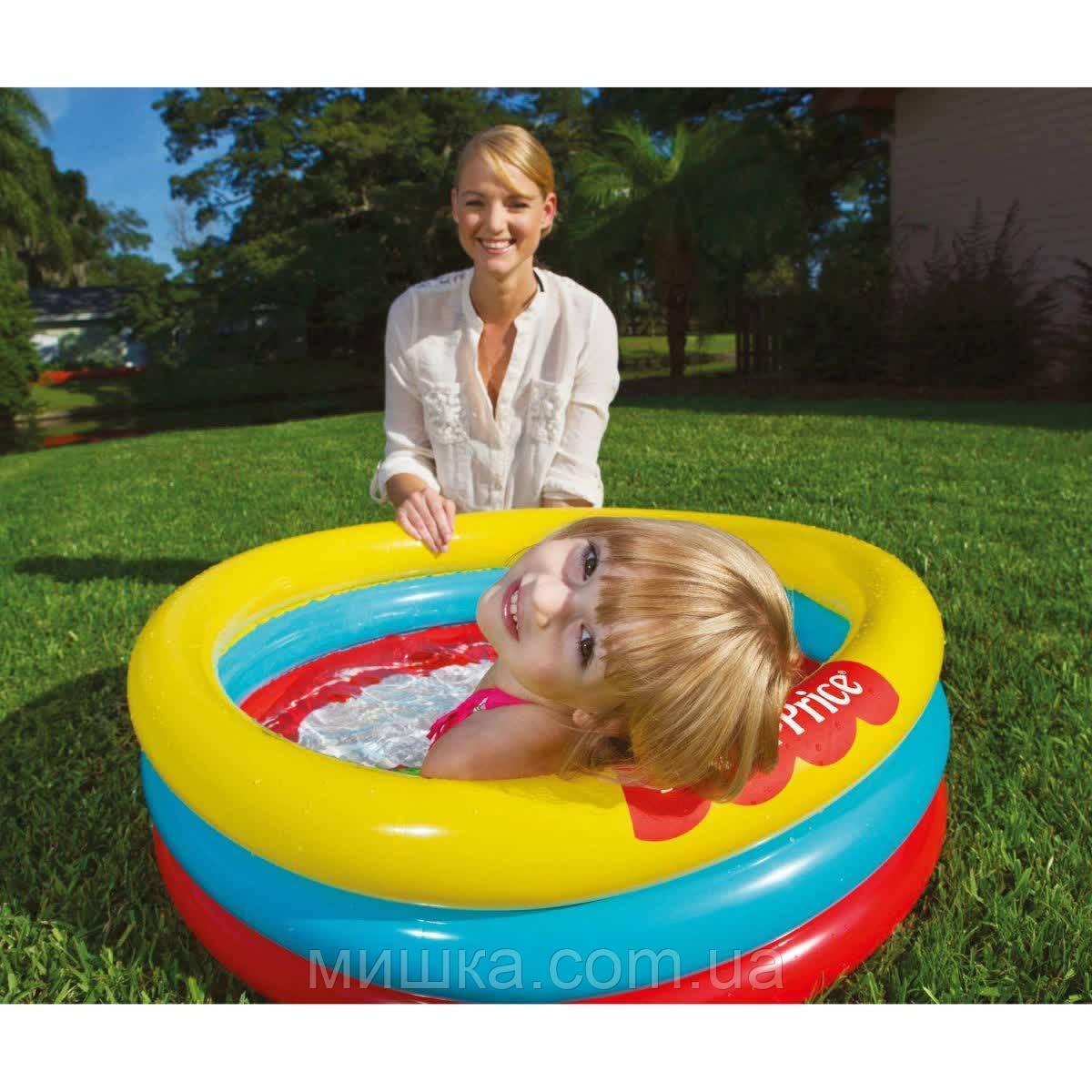 Детский надувной бассейн Ø91 см, Bestway 93501