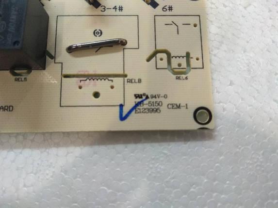 Силовая плата для варочной панели Ventolux VB 60 TC, фото 2