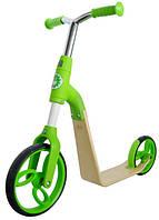 Беговел, самокат, велосипед для мальчиков и девочек от 2-х до 5 лет. Зелёный
