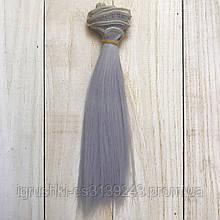 Волосся для ляльок (тресс) 15 * 100 см Колір 06