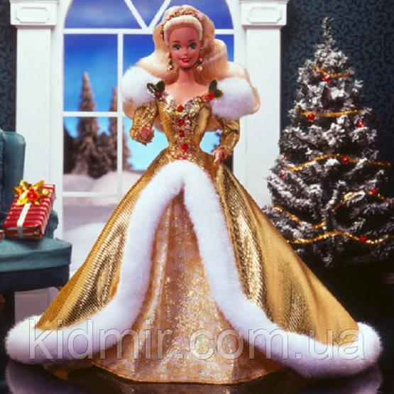 Кукла Барби Коллекционная Счастливого Рождества 1994 Barbie Happy Holidays 12155