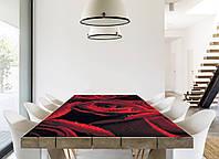 Наклейка на стол Zatarga Алые розы 01 650х1200мм для домов, квартир, столов, кофейн, кафе