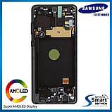 Дисплей Samsung N770 Galaxy Note 10 Lite Чёрный Black GH82-22055A оригинал!, фото 2
