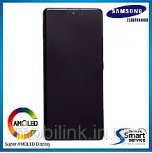 Дисплей Samsung G770 Galaxy S10 Lite Чёрный Black GH82-21672A оригинал!