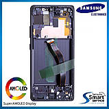 Дисплей Samsung G770 Galaxy S10 Lite Чёрный Black GH82-21672A оригинал!, фото 2