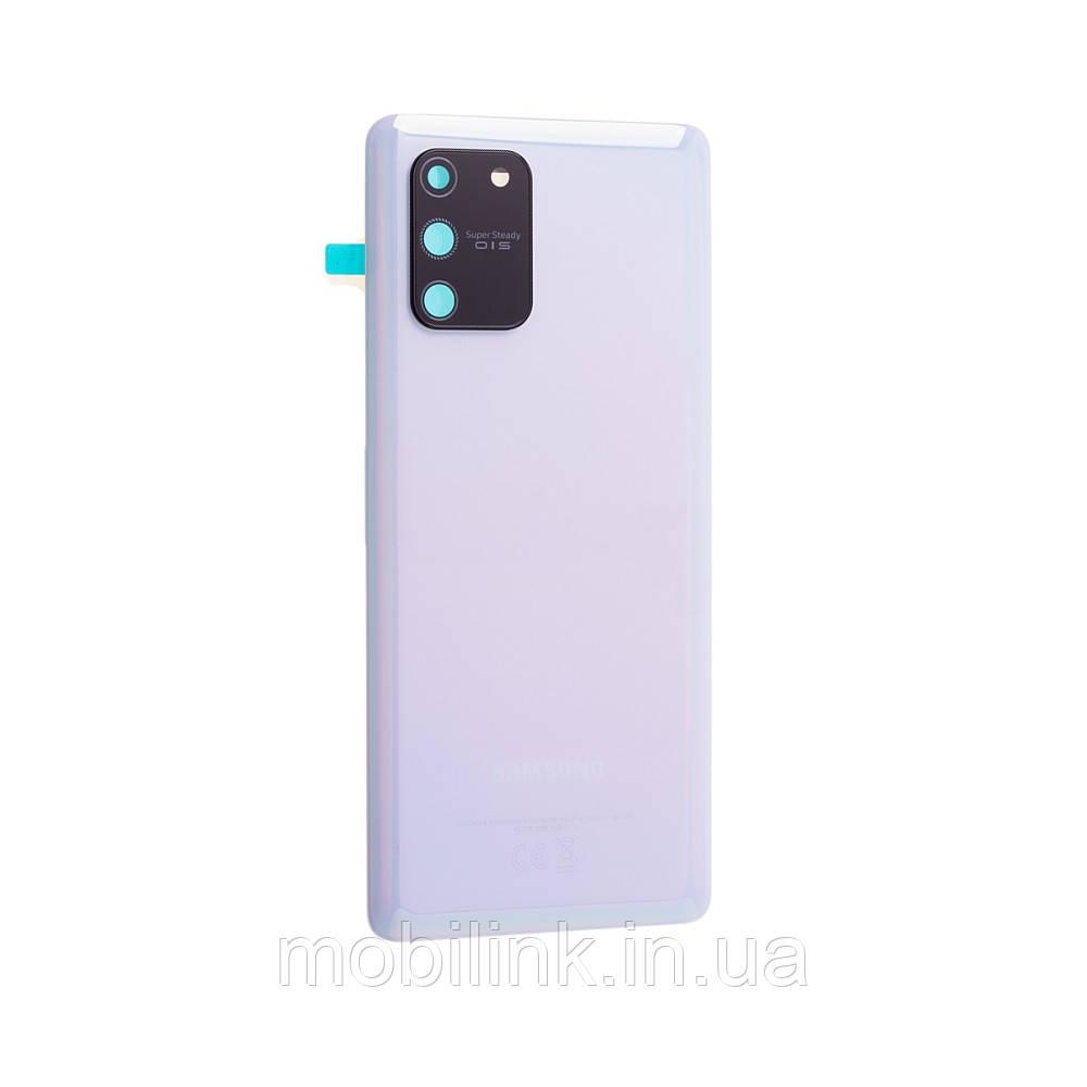 Крышка задняя Samsung G770 Galaxy S10 Lite Белая White GH82-21670B, оригинал!