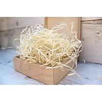 Декоративный наполнитель для подарков древесная стружка 40 грамм