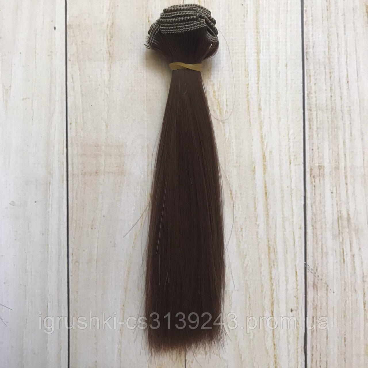 Волосся для ляльок (тресс) 15 * 100 см Колір 14