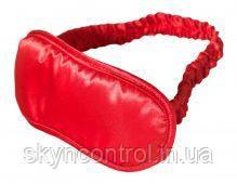 Маска на глаза Satin Love Mask, RED