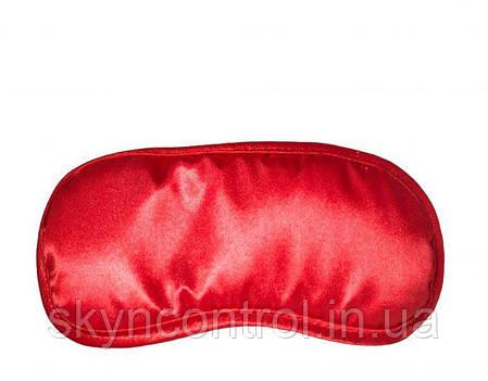 Маска на глаза Satin Love Mask, RED, фото 2