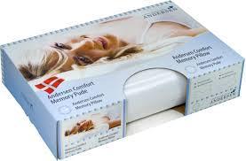 Ортопедическая подушка Андерсен Комфорт мемору с эффектом памяти 33*50*11\9 см  гипоаллергенная