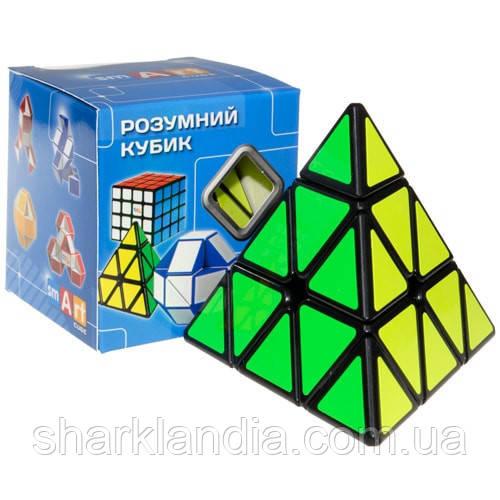 Smart Cube Pyraminx black   Пирамидка Смарт черная SCP1