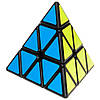 Smart Cube Pyraminx black   Пирамидка Смарт черная SCP1, фото 2