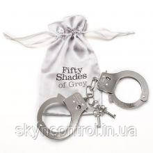 """Металеві наручники """"Ти. Моя""""."""