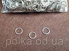 Кольца для бюстгалтеров 1см металл(1уп-1000шт) золото,черный,серебро.