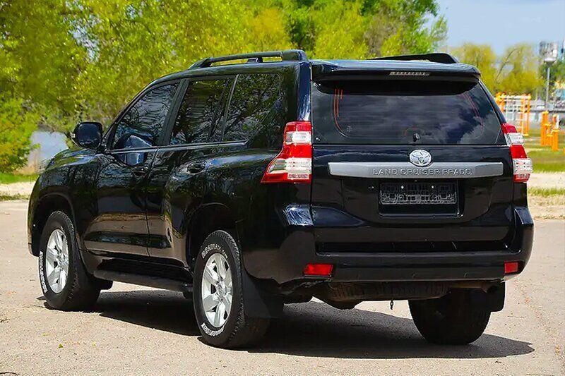 Рейлинги Havoc Toyota Land Cruiser Prado 150 2013-2018